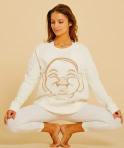 pull sweat yoga searcher dandasana cream