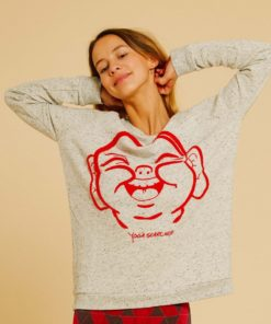 Sweat de yoga en coton
