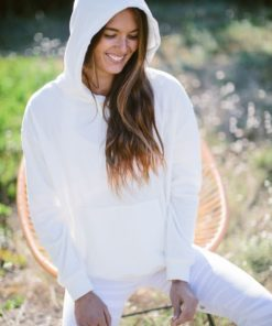 sweat yoga velours astral white