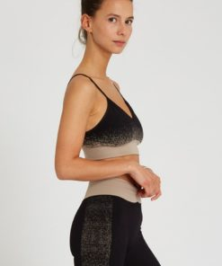 seamless bar yoga kapali black