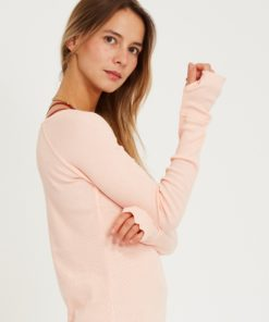 tee shirt yoga modal vishama rose pale